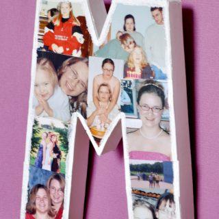 DIY Photo Letter