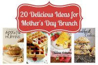 20 Delicious Mother's Day Brunch Ideas {The Love Nerds} #recipes #mothersday #brunchrecipes