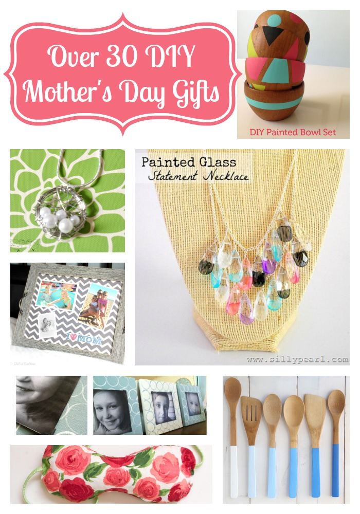 Over 30 diy mother 39 s day gift ideas the love nerds Mothers day presents diy