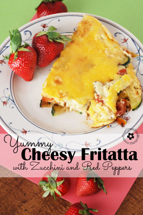 cheesy-fritatta-low-carb-zucchini-red-peppers