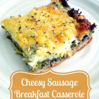 Host a Summer Brunch with this Sausage Breakfast Casserole