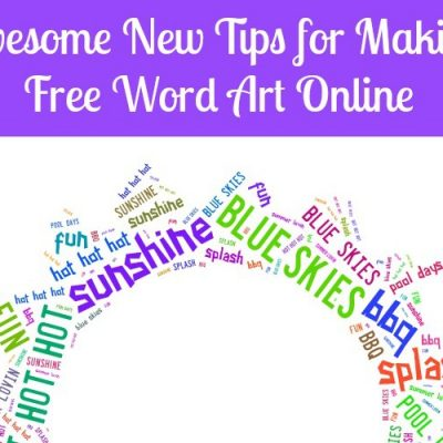 Awesome New Tips for Making Free Online Word Art