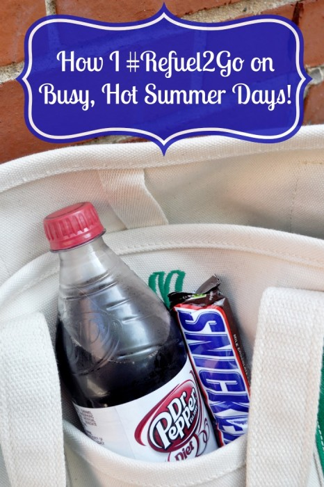 Summers are busy and HOT, so I definitely need an afternoon pick me up. My favorite way to refuel on the go around Chicago is a Diet Dr Pepper and SNICKERS® 2-to-go! {The Love Nerds} #Refuel2Go #Collectivebias #shop