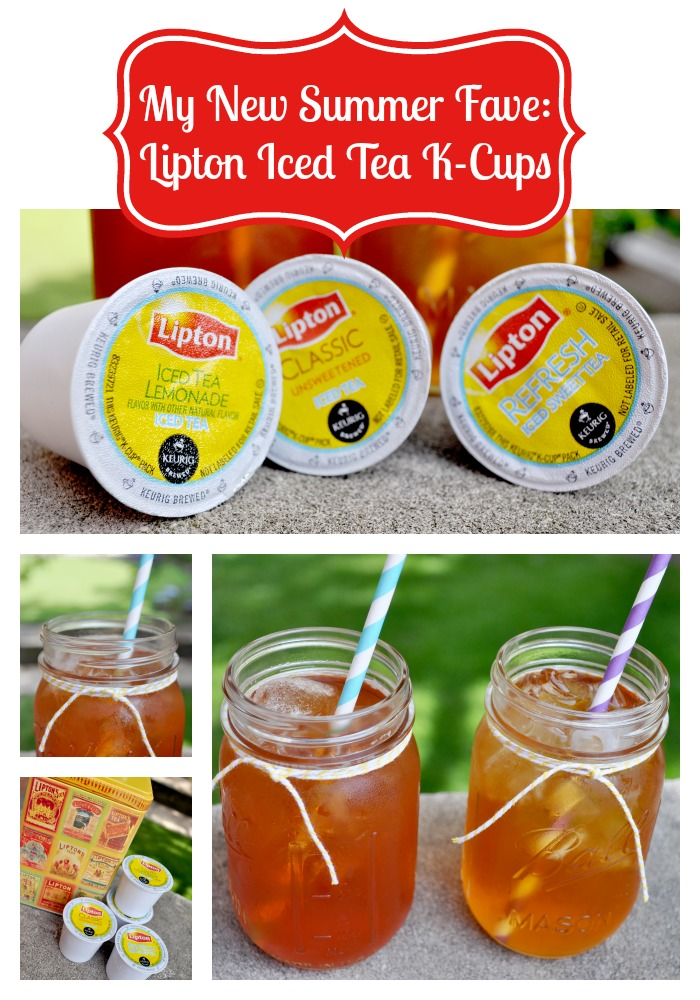 A New Way to Drink Iced Tea with Lipton - I am loving the delicious flavors of iced tea I can brew with Lipton K-Cups! {The Love Nerds} #bemoretea #PMedia #ad