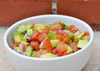 Fresh Tomato and Avocado Salsa