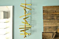 Handmade Tribal Mobile - DIY Home Decor Idea {The Love Nerds} #diytutorials #homedecor