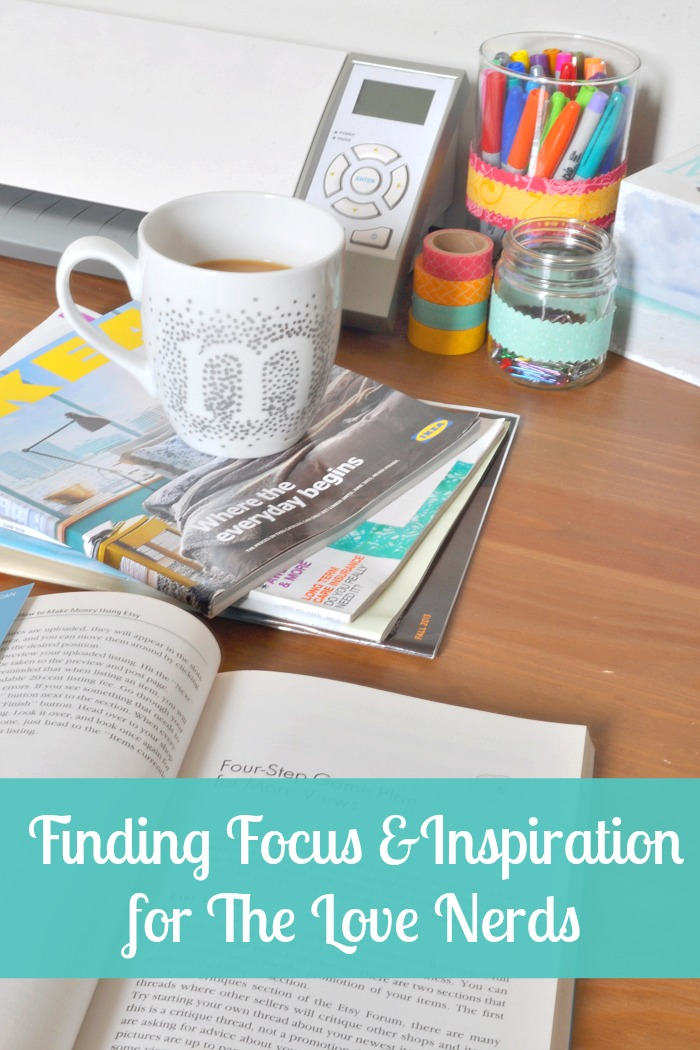 Finding Focus & Inspiration for The Love Nerds with my morning cup of Coffee-Mate Coffee! #CMInspires #CGC #shop