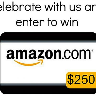 August Giveaway Fun Begins with $250 to Amazon