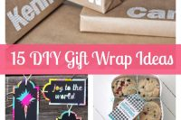 15 DIY Gift Wrapping Ideas - Presenting cute gifts doesn't have to be expensive! {The Love Nerds} #roundup #giftideas #giftwrap #crafts