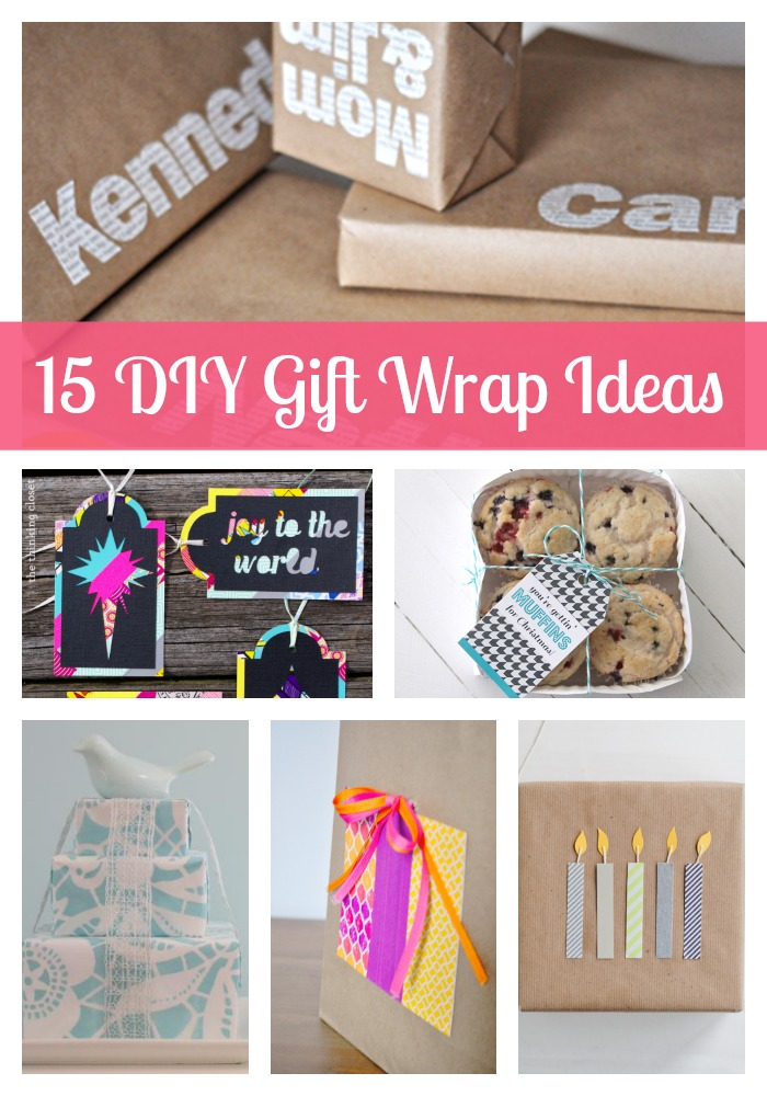 Cute Wedding Gift Ideas Diy : 15 DIY Gift Wrapping Ideas - Presenting cute gifts doesnt have to be ...