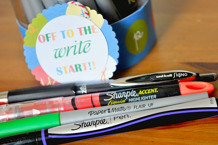 Help a teacher get off to the WRITE start this year and offer them needed support for a great school year! {The Love Nerds} #inspirestudents #teacherschangelives #PMedia #ad