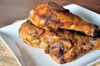 Mom's Fried Chicken - 3 Ingredient recipe for crispy, delicious fried chicken! {The Love Nerds} #recipe #comfortfood #chickenrecipe