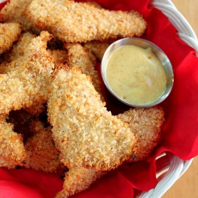 Simple Baked Chicken Fingers