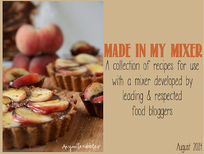 Made in my Mixer: A Free e-cookbook created around standing mixer recipes from 20+ food bloggers! {The Love Nerds} #cookbook #kitchenaid #recipes