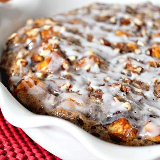 Making Time for Us with Pumpkin Cinnamon Roll Casserole