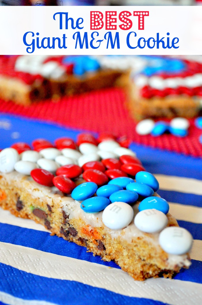 The Best Giant M&M Cookie {The Love Nerds} #HeroesEatMMs #CollectiveBias #shop #recipe #dessert