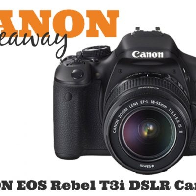 Win a Canon Camera for the Holidays!