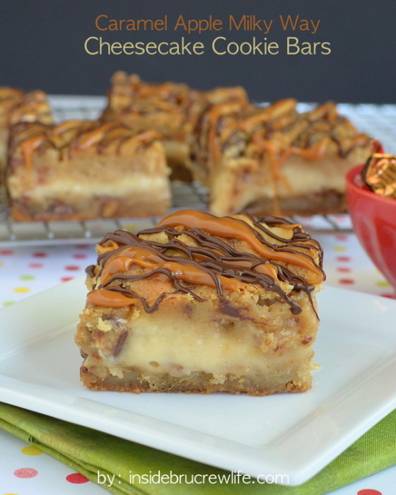 Caramel-Apple-Milky-Way-Cheesecake-Cookie-Bars-title-2