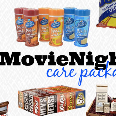 Movie Night Care Package Ideas for your College Student