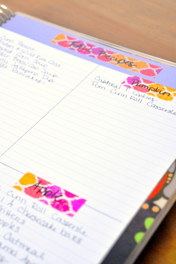 Blog Brainstorming with an Erin Condren Notebook - A great system for bloggers that can easily be applied to Etsy stores and other small businesses! {The Love Nerds} #ErinCondren #lifeplanner #organization #blogtips