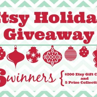 Etsy Holiday Gift Guide & BIG Giveaway