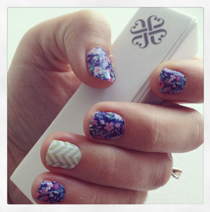 Jamberry First Application