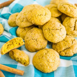 Fluffy Pumpkin Snickerdoodles