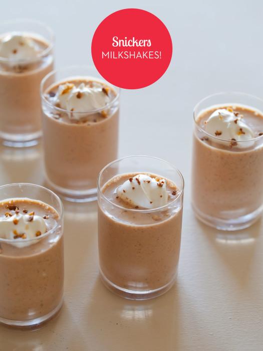 snickers-milkshakes