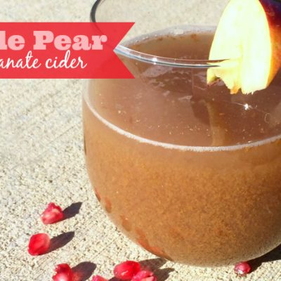 Apple Pear Pomegranate Cider Recipe