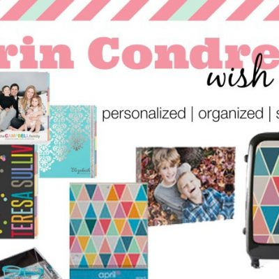 My Erin Condren Wish List {Personalized, Organized & Stylized}