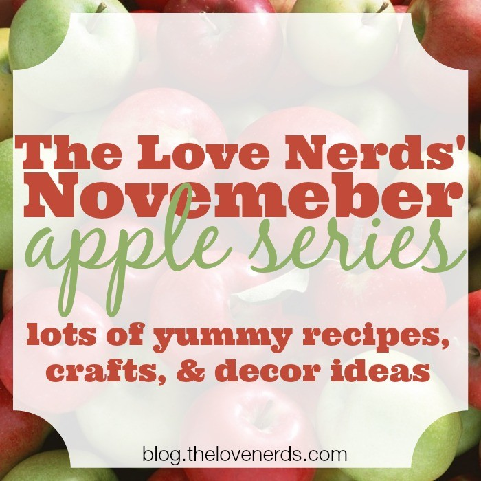 The Love Nerds November Apple Series - Lots of Yummy Recipes, Crafts, and Decor Ideas {The Love Nerds}
