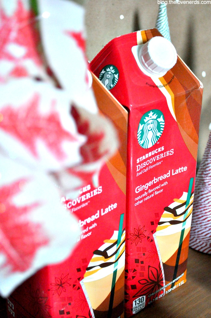 Host an Easy Holiday Brunch with a Classic Breakfast Casserole which can be made ahead of time and an easy to pour Starbucks drink! {The Love Nerds} #starbucksdiscoveries #ad