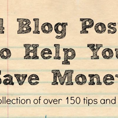 14 Blog Posts to Help You Save Money