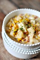 Hearty Crock Pot Corn Chowder