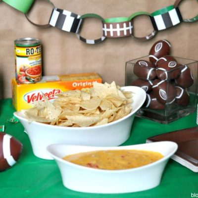 Hot Sausage Queso with Velveeta and RO*TEL