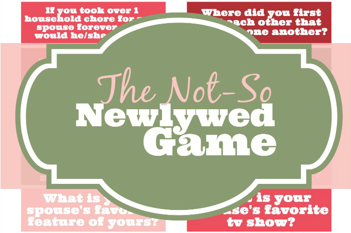 The not so newlywed game the love nerds