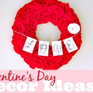 Valentine's Day Decor Ideas FEATURE