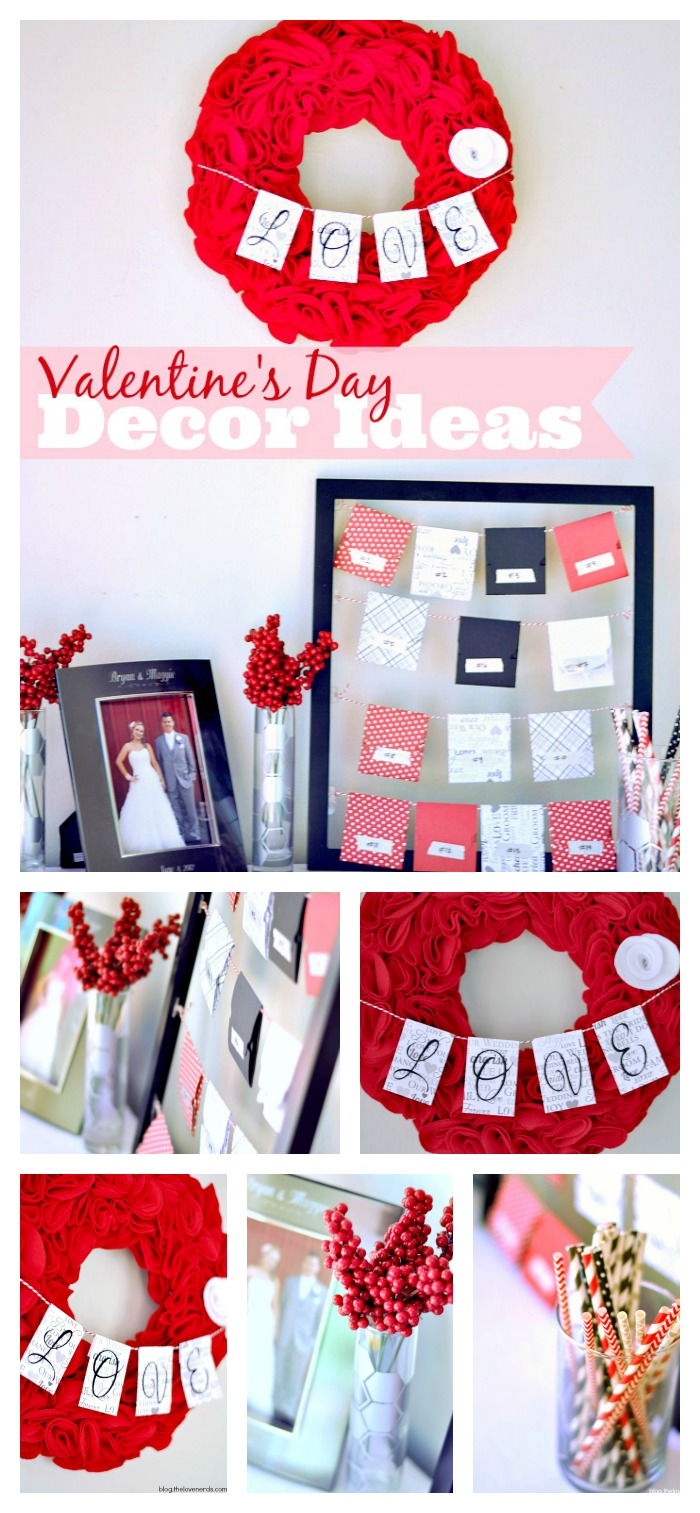 A Sneak Peek at my Valentine's Day Posts soon to come, including my Valentine's Day Decor Ideas! {The Love Nerds}