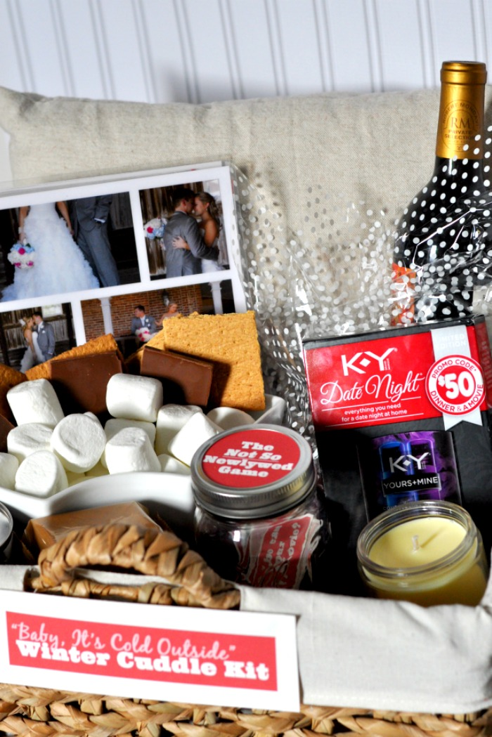 Date Night Cuddle Kit Create A Fun Date Night Kit For Home With Indoor S