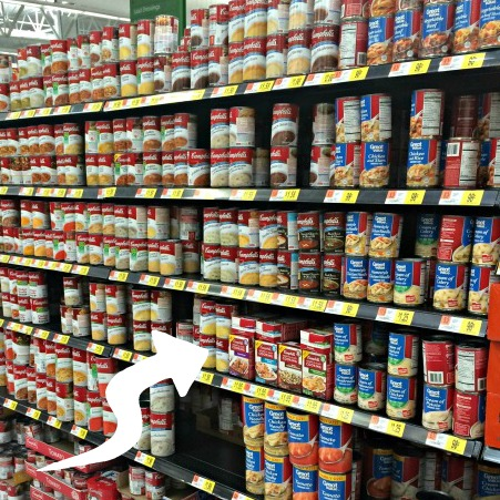 Campbell's Soup and Walmart