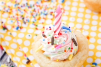 These Birthday Sugar Cookie Cups are so simple to make and the perfect addition to your party!
