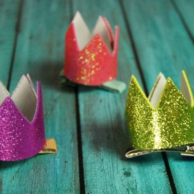 Adorable Mini Crown Hair Clip