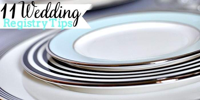 11 Wedding Registry Tips so creating your wedding registry can be more fun than stressful! {The Love Nerds} #ad #BBBSweeps