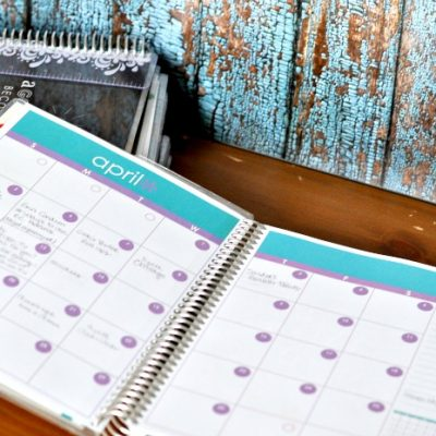 4 Ways to Get Organized with Brand New Erin Condren Notebooks
