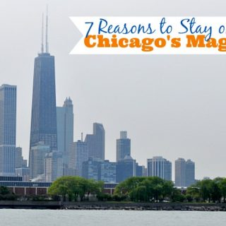 Looking to visit Chicago? Check out my 7 Reasons to Stay on Chicago's Mag Mile! {The Love Nerds} #spon #travelnerds