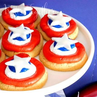 Captain America Cookies