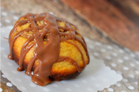 Chocolate Glazed Cookie Butter Cinnamon Rolls