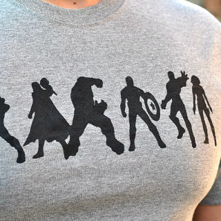 DIY Avengers Shirt