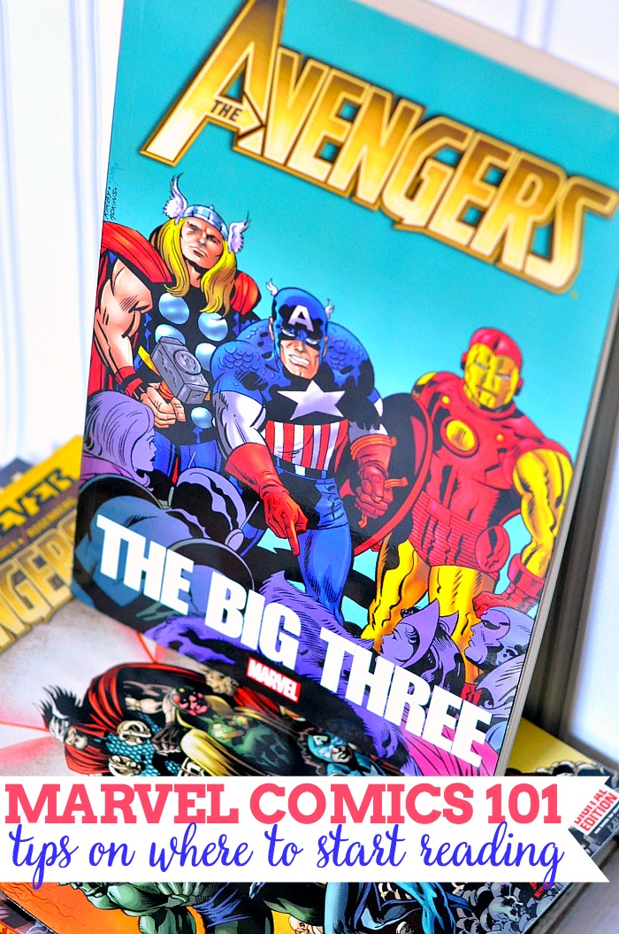 Marvel Comics 10: Do you love Marvel and the Avengers? Want to learn more but feel confused? START HERE - Tips on where to start reading Marvel Comics! {The Love Nerds}