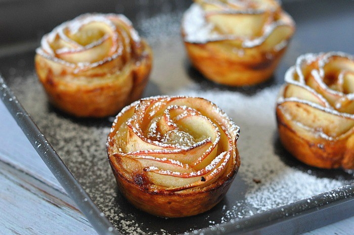 Apple Rose Pastries